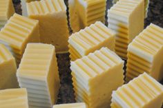 Homemade Coconut-Olive Oil Soap