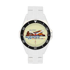 Shore Fast Line Trolley Service Wrist Watches  -The Shore Fast Line was an electric interurban railroad running from Atlantic City, New Jersey, to Ocean City, New Jersey, by way of the mainland communities of Pleasantville, Northfield, Linwood and Somers Point.