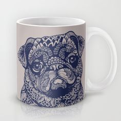 Buy MANDALA OF PUG by Huebucket as a high quality Mug. Worldwide shipping available at Society6.com. Just one of millions of products available.