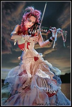 Emilie Autumn with red hair
