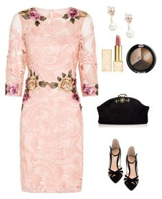 """""""NYE romance"""" by dieppham on Polyvore featuring Notte by Marchesa, Gianvito Rossi, Marni, Tory Burch and Kate Spade"""