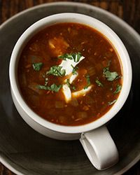 Ancho Chile Black Bean Soup Recipe on Food  Wine