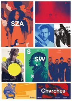 Spotify design style