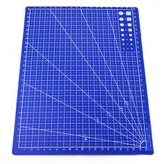 Linee della Griglia di alta Qualità A4 Tappetino di Taglio Mestiere di Carta Tessuto di Cuoio Cartone 30*22 cm