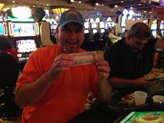 He got a #lucky $50 just for playing with his card! You could be next! #barona