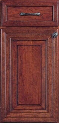 Door Styles: Cherry Engelbrook - Visit Showroom in Columbus Ohio - Kitchen Kraft Inc, Kitchen Cabinets Remodeling. - Door Style : Engelbrook  Door Type : Mitered  Finish : Concord  Drawer : Paneled  Material : Cherry