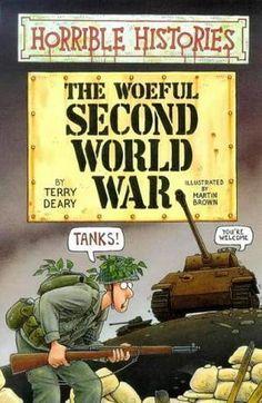 """The Woeful Second World War (Horrible Histories)"" av Terry Deary"