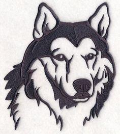 A one-color silhouette of a Siberian husky. Wood Burning Crafts, Wood Burning Patterns, Wood Burning Art, Animal Stencil, Stencil Art, Stencils, Silhouette Design, Animal Drawings, Art Drawings