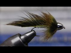 Barr's Slumpbuster Streamer Fly Tying Video Instructions - YouTube