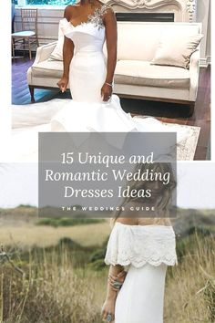 Unique and Romantic Wedding-Dresses Ideas #bridaldresses