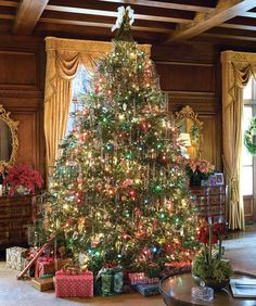 We're welcoming December and honoring our tenth anniversary with ten of our favorite Christmas trees gleaned from a decade of holiday issues, all sure to inspire your season of Yuletide decorating!