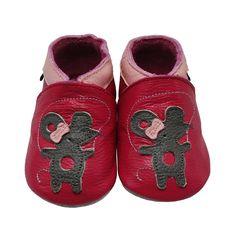 Mejale Chaussons Enfant Bébé en Cuir Doux-Chaussons Cuir Souple-Chaussures Premiers Pas-Dessin animé Souris: Amazon.fr: Chaussures et Sacs