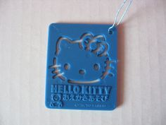 "SANRIO HELLO KITTY Trinket Ornament Stencil Vintage 1976-2001 New - $15.99. FOR SALE! Sanrio Hello Kitty Trinket/Ornament Stencil New, excellent unused ""as is"" condition. Approximately 1-3/4"" x 2"" Material: Plastic Color: Blue Distributed in U.S. by Sanrio, Inc. . Sanrio CO., LTD. Copyright 1976-1990 Made in Japan We accept Paypal only. Payment is due within 3 business days after completing BIN purchase. Your 112158489830 News 15, Hello Kitty Accessories, Sanrio Hello Kitty, All Sale, Color Blue, Dog Tag Necklace, Stencils, Plastic, Japan"