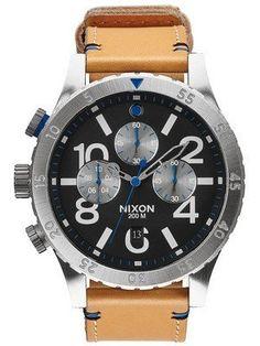 Nixon 48 20 Chrono Quarz 200M A486 2220 00 Herrenuhr