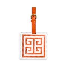 Jonathan Adler Greek Key Luggage Tag