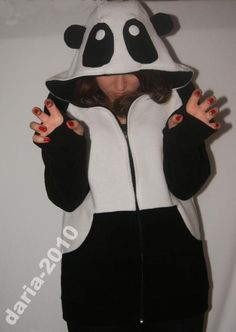 OMG :D That is such a cute panda jacket!