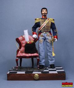 OFICIAL. ESCUADRÓN DE ARTILLERÍA DE LA GUARDIA REAL. DIARIO – 1825