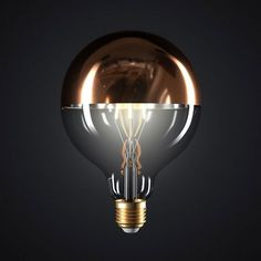 Zrkadlová kolekcia FILAMENT Light Bulb, Led, Mirror, Lighting, Home Decor, Italia, Bulb Lights, Homemade Home Decor, Mirrors