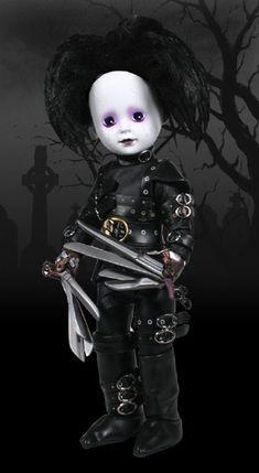 LDD Presents: Edward Scissorhands - Living Dead Dolls Exclusives.. Gotta have it!