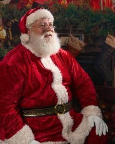Professional Santa in SC, Real Beard, Experienced, Great with kids