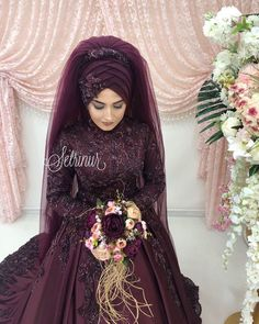 Weddings are special occasions wearing a Wedding Abaya fills the need of modesty. This also can be made extremely elegant check full Wedding Abaya guide. Wedding Abaya, Muslim Wedding Gown, Hijabi Wedding, Muslimah Wedding Dress, Disney Wedding Dresses, Muslim Brides, Pakistani Wedding Dresses, Bridal Dresses, Muslim Couples