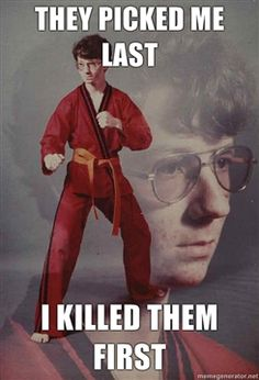 Karate Kyle!