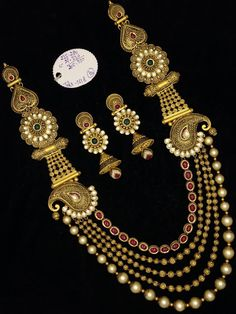 Discover the Joy of Wearing Best. Call Now at 072480 86027 or Visit our Showroom Shubhas Bazar,Hamirpur, Uttar Pradesh Antique Jewellery Designs, Gold Jewellery Design, Ganesh Pendant, Jewellery Showroom, Gold Jewelry Simple, Jena, Mehendi, Beaded Jewelry, Gold Necklace