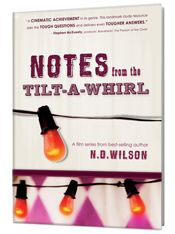 Notes from the Tilt-A-Whirl. Incredible book. Fresh perspective. True faith.