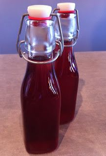 The Asheville Foodie: Making Pomegranate Liqueur
