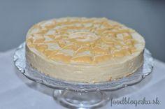Lemon cheesecake (without baking)