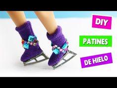 DIY | Como hacer patines de hielo - manualidades para muñecas - manualidadesconninos - YouTube