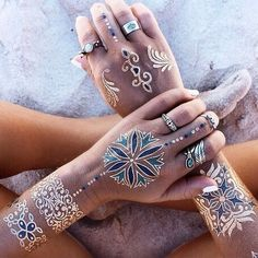 Flash Tattoos and Rings - I wish the first ring at the left hand'