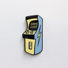 'Game Over' Pin