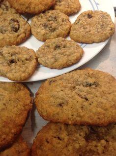 Desserts With Biscuits, Cookie Desserts, Dessert Recipes, Oatmeal Cookie Recipes, Oatmeal Cookies, Top Recipes, Yummy Cookies, Rice Krispies, Deserts