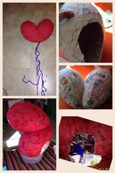Piñata corazón #heartpinata