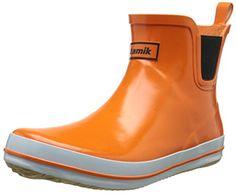Kamik Women's Sharon Ankle-High Rain Boot *** Visit the image link more details.