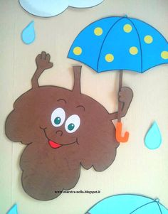 Kaко направити цвет - Зелена учионица Fall Crafts, Diy And Crafts, Crafts For Kids, Arts And Crafts, Art N Craft, School Decorations, Autumn Activities, Pre School, Pikachu
