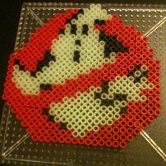 Ghostbusters perler beads by hardassdoll