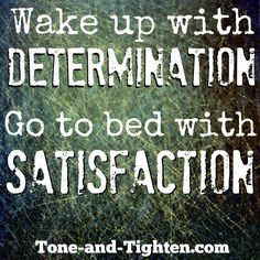 Attitude is everything - how will you tackle today? #fitness #motivation from Tone-and-Tighten.com