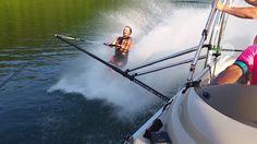 Wakeboard Towers, Water Ski, Jet Boat, Ski Boats, Pontoon Boat, Wakeboarding, Lake Life, Barefoot, Skiing