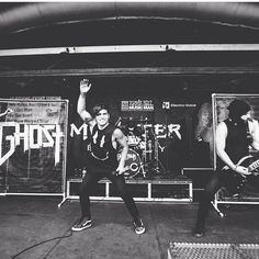Kevin Ghost (@itskevghost)   Twitter: I have fun on stage ✨ who has seen a @ghosttown show!??