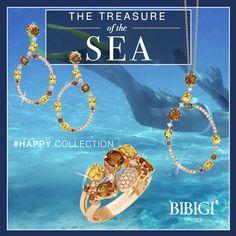 """La nuova collezione di Bibigì che si ispira al vivere il momento presente, al coccolarsi e concedersi il gusto di un capriccio.  Bibigì """"Happy"""" ci emoziona con una miriade di colori che rispecchiano l'allegria dell'anima."""