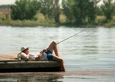 Haha how I like to fish
