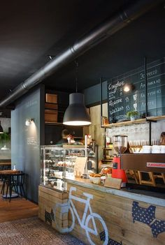 I Feel espresso bar / Project by: Azovskiy & Pahomova...   Design News From All Over The World