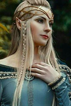 Fantasy Women, Fantasy Girl, Elves Fantasy, Fantasy Inspiration, Character Inspiration, Elf Kostüm, Foto Fantasy, Female Elf, High Elf
