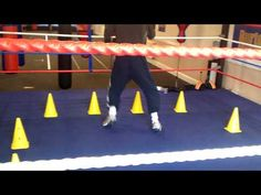 boxing training shadow boxing footwork drills - YouTube