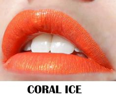 CORAL ICE Lipsense.  Looking for the best liquid lipstick on the market? Look no further! LipSense is long lasting (up to 18 hours with 1 application), waterproof, smudge-proof and kiss-proof! It is the best liquid lip color you will find....guaranteed!