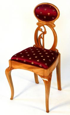 art nouveau chair | Hand Made Lady's Art Nouveau Chair To Go With Desk by Heller And ...