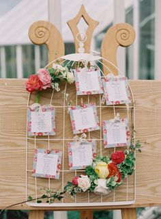 beautiful (and easy to recreate on a budget) table plan