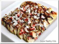 Fruit Nachos. A Sweet and Healthy Treat | Recipes